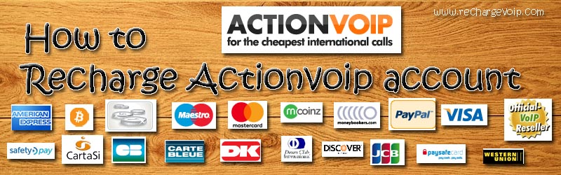 recharge-actionvoip-account