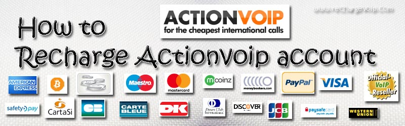 Recharge actionvoip