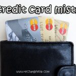 10 common Credit card mistakes revealed.