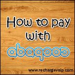 How to pay with Abaqoos online payment system ?