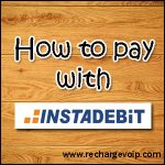 How to pay with InstaDebit online payment ?