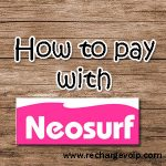 How to pay with Neosurf payments ?