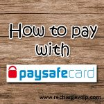 How to pay with PaySafeCard ?