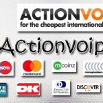 Recharge Actionvoip account, how to do it ?