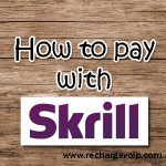 How to pay with Skrill payment ?