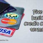 Five credit card Terms, you must know