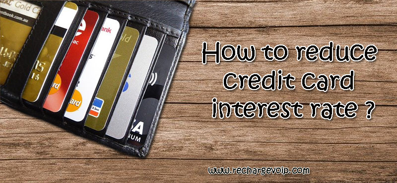 reduce credit card interest
